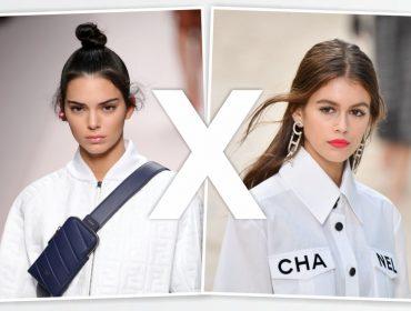 Kendall Jenner X Kaia Gerber: quem se deu melhor nas semanas de moda?