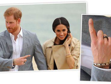 """Novo brinquedinho do príncipe Harry é um """"anel inteligente"""" que até envia e-mails. Conheça a peça!"""