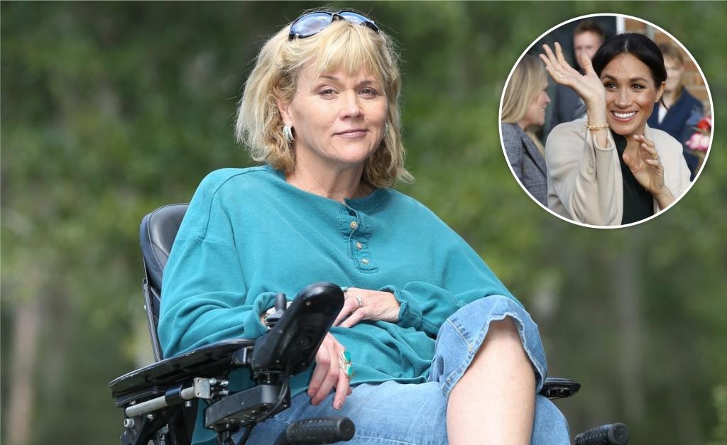 7589e3009eb Visita surpresa de meia-irmã de Meghan Markle à ex-atriz foi ...