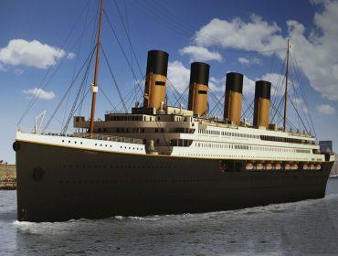 Ainda em construção, réplica do Titanic já tem viagem inaugural agendada