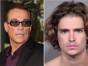 Filho de Jean-Claude Van Damme que ameaçou colega com faca recebe condenação