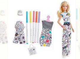 Desejo do Dia: estimular a criatividade dos glamuzinhos com a Barbie x Crayola