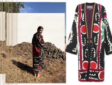 Casacos do Uzbequistão customizados por Cris Barros é o novo must entre lulus