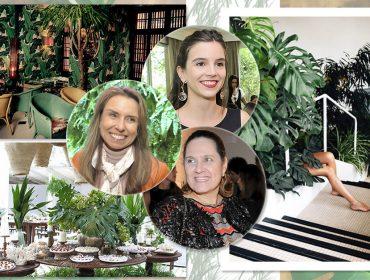 Lívia Almeida, Flavia Nazar e Titina Leão entregam detalhes da festa de 12 anos da Revista J.P