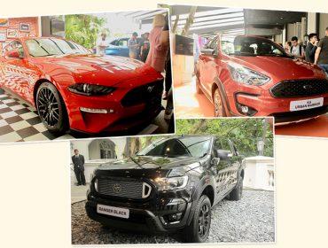 Ford antecipou novidades do Salão do Automóvel em evento no Palácio Tangará