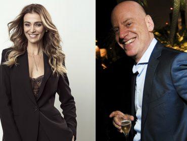 """É romance! Mônica Martelli é flagrada em clima de """"chega mais"""" em SP com alto executivo"""