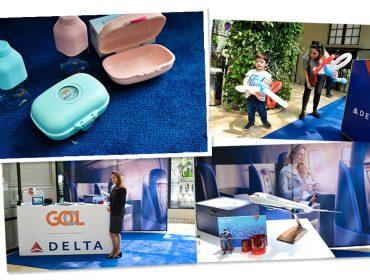 Delta e Gol conquistaram as crianças no Piquenique Glamurama com mimos pra lá de fofos