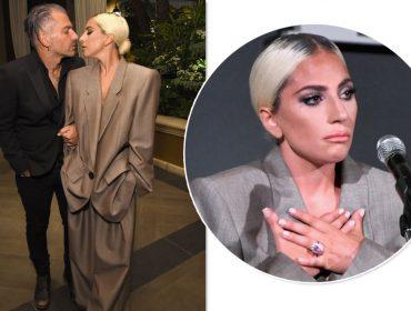 Lady Gaga confirma noivado com seu agente Christian Carinoe mostra anel de mais de US$ 1 milhão