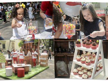 Mão na massa: glamuzinhos se divertiram confeitando cupcakes no nosso burburinho desse domingo