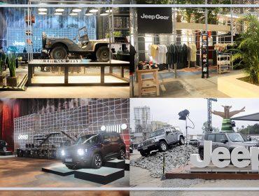 Jeep do Brasil tem espaço cheio de história e atrações no SPFW