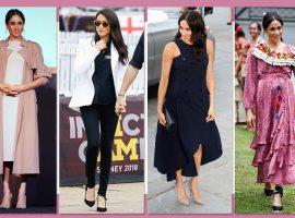 Em apenas duas semanas, looks de Meghan Markle ultrapassam valor de um ano de Kate Middleton