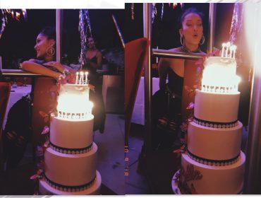 Bella Hadid comemorou 22 anos com festa surpresa lotada de borboletas. Oi?