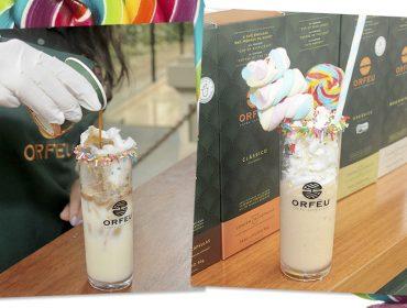 Versões divertidas e açucaradas do Café Orfeu fizeram sucesso na festa de Dia das Crianças do Glamurama