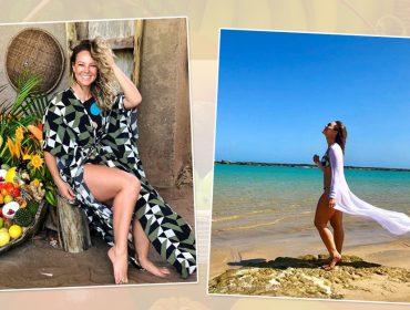 Paolla Oliveira exibe corpo sarado em férias no nordeste e ganha enxurrada de elogios no Instagram
