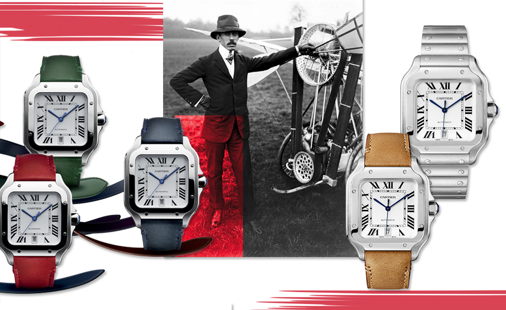 b55d4f02925 Brasil recebe instalação do icônico relógio Cartier criado para  Santos-Dumont