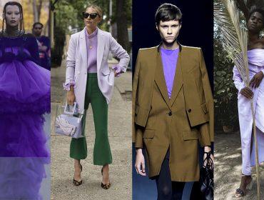 Trend alert! Celebridades aderem ao lilás em looks que vão dos clássicos aos mais modernos