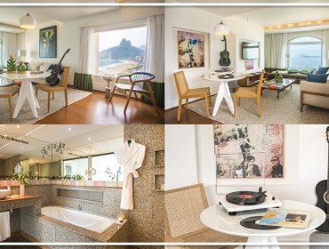 Hotel do Rio de Janeiro cria quarto para comemorar 60 anos da Bossa Nova