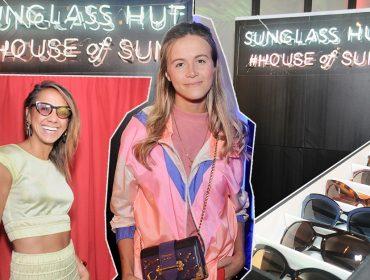 Na festa da Revista J.P, cliques mil com a photo machine da Sunglass Hut e seus novos modelos de óculos