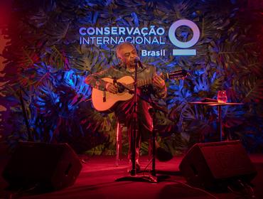 Gilberto Gil faz pocket show em prol do meio ambiente: aos detalhes