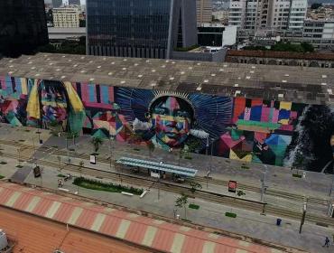 É hoje a inauguração oficial de primeiro museu a céu aberto do Rio