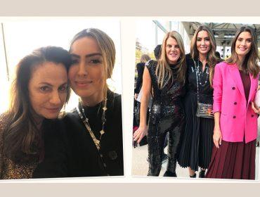 Iara Jereissati circula entre os principais encontros da semana de moda de Paris. Vem ver…