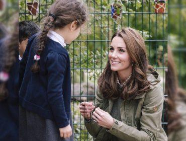 Kate Middleton marca seu retorno após licença-maternidade: mais magra e novo corte de cabelo