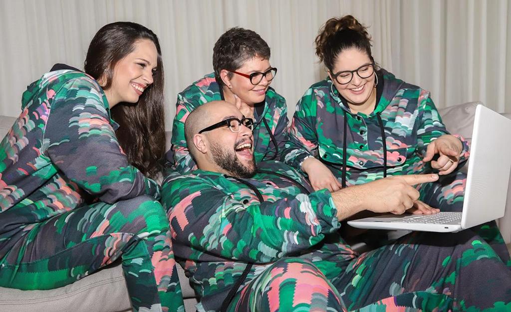 0fbf9a75a Tiago Abravanel quer todo mundo de pijama