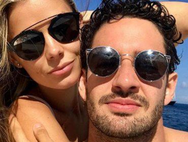 Chega ao fim namoro de quatro meses de Alexandre Pato e Danielle Knudson