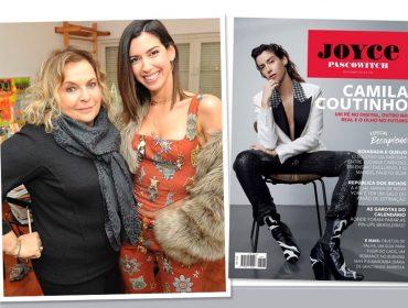 É hoje! Joyce Pascowitch e Camila Coutinho se unem em almoço especial para celebrar a edição de novembro da J.P