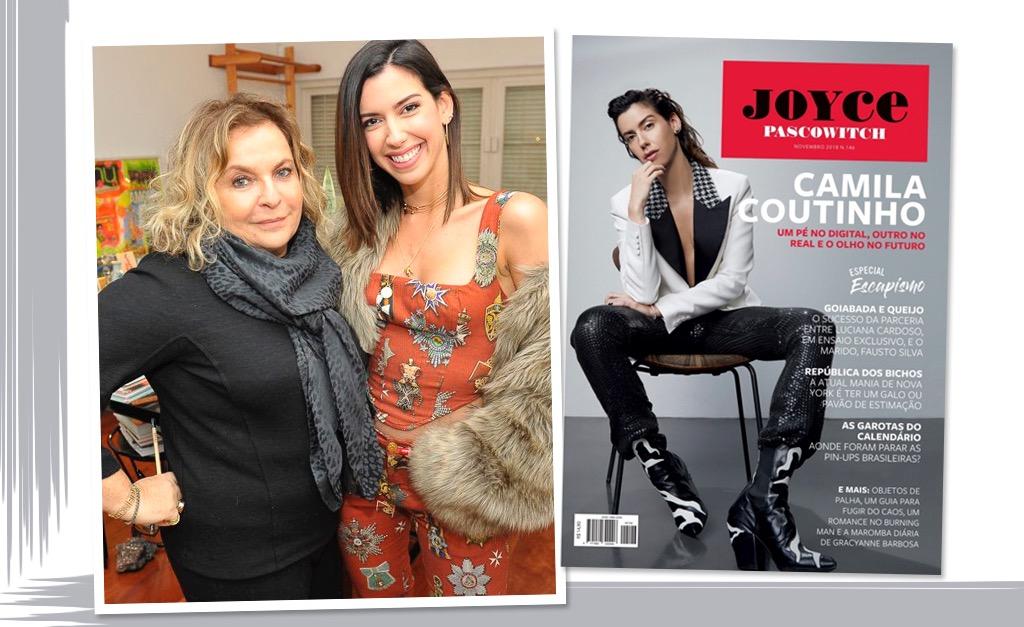 Joyce Pascowitch e Camila Coutinho se unem em almoço especial para celebrar  a edição de novembro da J.P  1787916945152