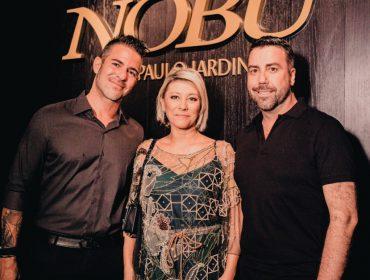 Cocktail de abertura do primeiro Nobu da América do Sul, nessa terça-feira, em São Paulo