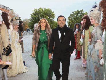 Carlos Ghosn alugou o Palácio de Versailles para se casar com Carole Nahas em 2016. Relembre!