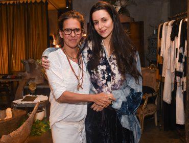 Gilda Midani lança nova linha de roupas em sua loja da Oscar Freire nessa quarta
