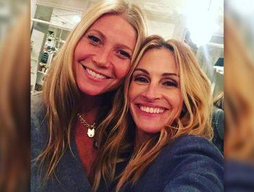 Em podcast com bff Gwyneth Paltrow, Julia Roberts fala sobre o casamento, a perda do pai e… George Clooney!