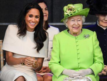 """Sabia que Elizabeth II odeia a palavra """"grávida"""" e usa outra para se referir a Meghan Markle? Saiba qual!"""