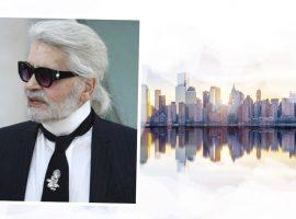 """Vai para Nova York? Então anote as dicas 'deluxe"""" de Karl Lagerfeld para a Big Apple"""