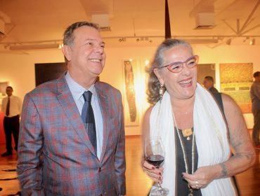 Ricardo Camargo arma cocktail para comemoração dupla: aniversário de galeria e exposição