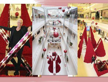 JK Iguatemi tem Natal inspirado em doces com decoração de Jeff Leatham