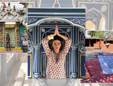 Betina de Luca invade a Índia e se prepara para lançar nova coleção. Vem saber!