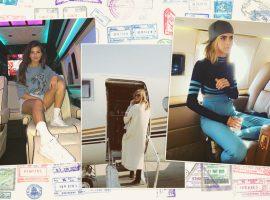 #JetSelfie! Conheça as celebs que adoram ostentar seus jatinhos particulares nas redes sociais