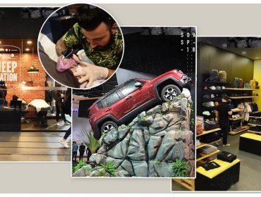 Jeep transforma experiências em histórias no Salão do Automóvel 2018