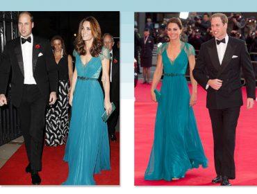Kate Middleton repete vestido e acessórios usados há seis anos. Chiqueria pura!