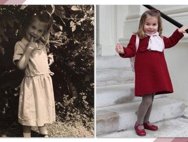 Rainha Elizabeth II? Que nada! A princesa Charlotte é comparada com sobrinha de Lady Di…