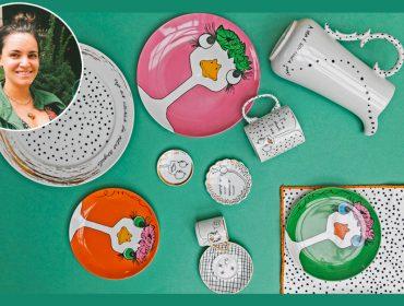Chef Renata Vanzetto assina coleção de louças e o resultado é apaixonante