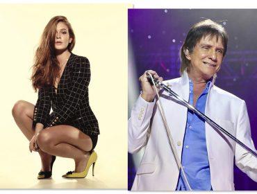 A pedido do próprio Roberto Carlos, Marina Ruy Barbosa cantará em especial de fim de ano da Globo