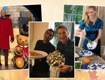 Celebs não economizam nas comemorações do Thanksgiving Day. Dá uma espiada!