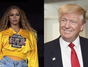 Na queda de braço com Beyoncé, Trump leva a melhor… Vem saber!