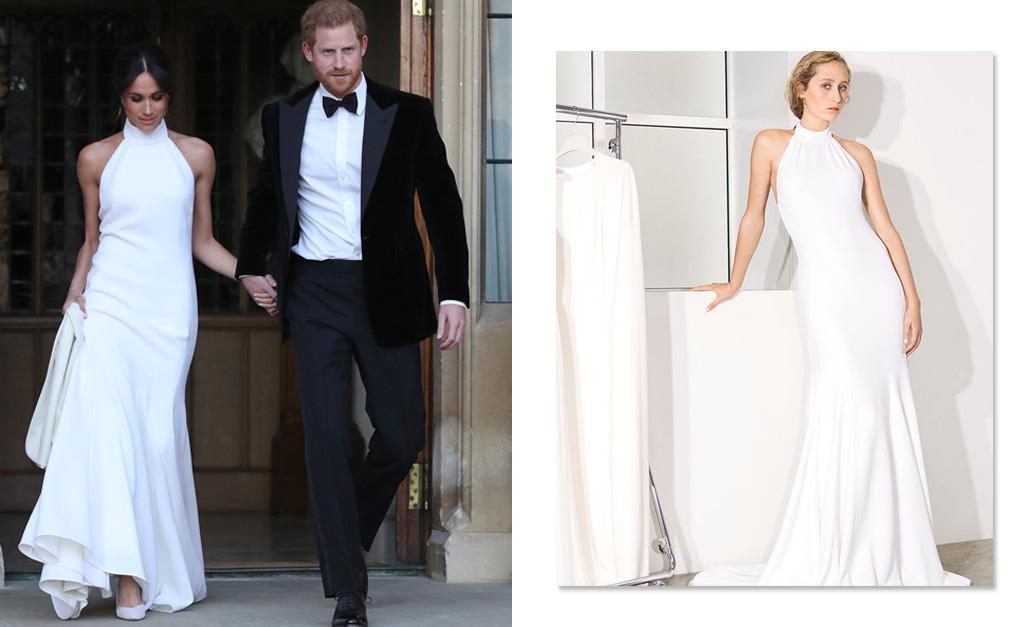 f39f701cad Meghan Markle e Harry saindo para a recepção de seu casamento em Windsor