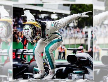 Lewis Hamilton se declara aos fãs brasileiros mas comete uma pequena gafe… Vem ver