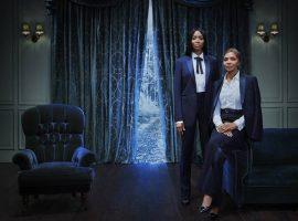 Naomi Campbell divide cena com sua mãe – e outras celebs – em Natal de Tisci para a Burberry